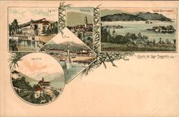 Italië Italy Italia - Ricorde Del Lage Maggiore - Isole Borromee - 1900 - Unclassified