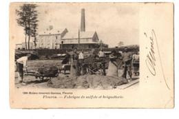 FLEURUS - Fabrique De Sulfate Et Briquetterie - Envoyée En 1902 ? - Maison Scouvart Suetens 9390 - Fleurus