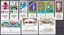 Israel - Jahrgang 1975 - Komplett Postfrisch MNH Mit Tab - Nuevos (con Tab)