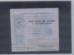Bon De Colis 15 Noir Luxe - Militaire Zegels (zonder Portkosten)