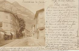 Carte Photo : Aigle - Avenue De La Gare - Carte Précurseur 1905 - VD Vaud