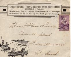 11 X 1933 Geïllustreerde Envelop Met Firmalogo Van VUGHT Naar 's-Hertogenbosch - Marcophilie