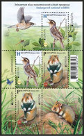 Belarus Weissrussland  MNH ** 2021  Europe 2021 Endangered National Wildlife Block - Belarus