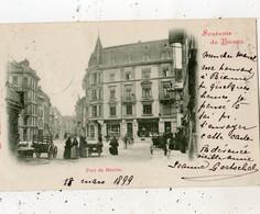 SOUVENIR DE BIENNE PONT DU MOULIN  (CARTE PRECURSEUR ) - BE Berne