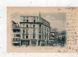 GRUSS AUS BIEL PONT DU MOULIN   (CARTE PRECURSEUR ) - BE Berne
