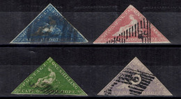 Cap De Bonne-Espérance YT N° 3/6 Oblitérés. Belle Qualité Sans Défaut. A Saisir! - Cape Of Good Hope (1853-1904)