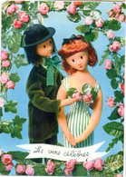 Illustrateur  PEYNET -- Amoureux De Peynet ( Vers Célèbres --Ronsard )               .......à Saisir - Peynet