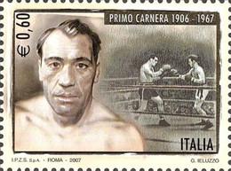 # ITALIA ITALY - 2007 - Primo Carnera Pugilato Box World Champ Sport - Stamp MNH - 2001-10: Mint/hinged