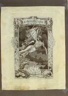 Carte Postale. Objets De La Révolution Française. Étoffe Du Centenaire De La Marseillaise. 1892. Etat Moyen. - Coins (pictures)