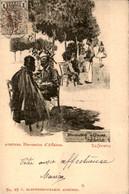 Griekenland Greece - Athenes Discussion D Affaires -  - 1900 - Grecia