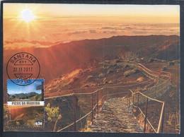 Peaks Of Madeira Island. Pico Ruivo, Santana. Volcanoes. Volcanic Islands. Intraplate Volcanism - Hot-spot. Postal Máxim - Vulcani