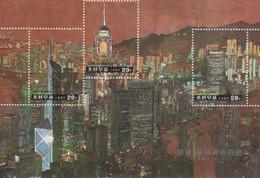 (SS138) NORTH KOREA, 1997 (Return Of Hong Kong To China). Sheetlet. Mi ## 3902-3904. MNH** - Corea Del Nord