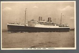 58374)  MV Rangitata NZS Co - Steamers