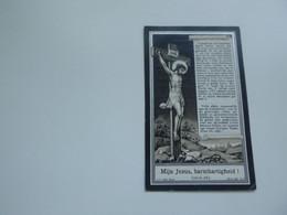 Doodsprentje  ( 6845 ) Pillaert  /  Deprey       -  Krombeke  Haringe     1933 - Avvisi Di Necrologio