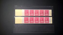 2 Carnets 1816 C1 Type Marianne De Becquet 1 Avec N° / 1 Sans N° OUVERTS VC Y Et T 11 Euros Pièce - Definitives