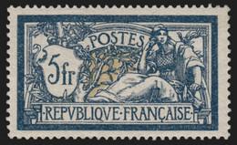 France N°123, Merson 5fr Bleu, Neuf * Infime Trace - COTE 100 € - TB - Nuovi