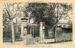 30.  CODOLET .  Groupe Scolaire Et Mairie . - Altri Comuni