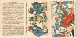 ALGÉRIE  /  F.  SÉNÉCLAUZE,  Viticulteur,  Domaine  De  Saint-Eugène  ORAN  /  Dépliant  En  3  Volets - Publicités