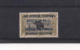 Ruanda Urundi  COB 34 * TYPE B - 1916-22: Mint/hinged