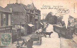 14- CALVADOS - CABOURG  - Route De Caen - Tramway -  (10117) Voir Scans Recto Verso - - Cabourg