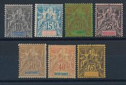 EB-34: DIEGO SUAREZ: Lot* Avec N° 29-30-44-45-46-47-49 - Unused Stamps
