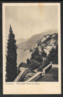 CAMPIONE VISTA DALLA CHIESA DEI GHIRLI LAGO DI LUGANO VG. 1935 COMO F./PICCOLO N° B473 - Como