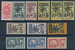 EB-36: GUINEE: Lot Avec N° 37*-38*-40*-41*-41 Obl (2)-42/47* - Unused Stamps