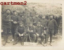 CARTE PHOTO : SOLDAT REGIMENT D'ARTILLERIE 2e PIECE GUERRE MILITAIRE UNIFORME - Weltkrieg 1914-18