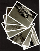 7 Photos 12,5 X 9 Cm - 1975 - Automobilia - Vintage Snapshots - Course Automobile - Racing Cars - Voir Scans - Cars