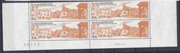 N° 2405 Bastide De Monpazier:  Beau De Bloc De 4 Timbres Neuf Impeccable - Unused Stamps