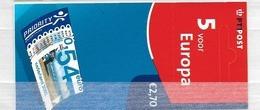 2002 MNH PB78 Nederland Postfris - Postzegelboekjes En Roltandingzegels