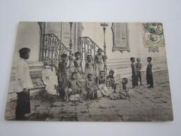 Les Mbodok    Phnom Penh  Enfants                REF 21 - Laos