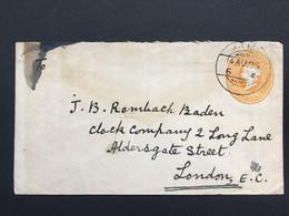 INDIA 1905 Victoria Cover Sent To London - 1882-1901 Empire