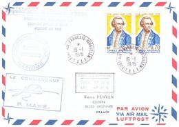 TAAF KERGUELEN 19 01 1978 - Cartas