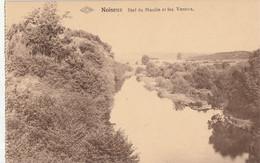 """Noiseux - Bief Du Moulin Et Les Vennes - Edit. Taziaux-Charlier, épicerie Delhaiz """"Le Lion"""" Et Tissus/Jos - Carte Carnet - Somme-Leuze"""
