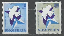 Albanie - Albanien - Albania 1999 Y&T N°2455 à 2456 - Michel N°2683 à 2684 *** - 50 Ans De L'OTAN - Albanie