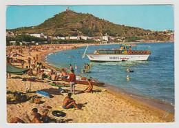 Espagne Costa Brava BLANES En 1964 Baignade Bateau ARENYS - Gerona