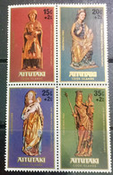AITUTAKI 1980 MNH STAMP ON CHRISTMAS - Aitutaki