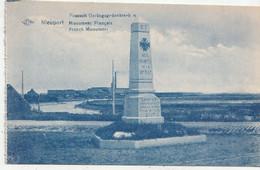 Nieuwpoort - Nieuport - Fransch Oorlogsgedenkteken - Monument Françaos - Jos - Edit. B. Allaeys, Nieuport - Nieuwpoort
