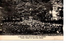 Colonie Scolaire De Saint-Ouen (les Enfants Des Flandres) : - Guerra 1914-18