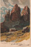 Cartolina - Postcard /  Viaggiata - Sent /  Drei Zinnen. - Unclassified