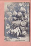 OLD  PHOTO POSTCARD   -  GUALTEMALA - SOCIAL LIFE - TYPE - COMERCIANTE DE CANASTAS - Guatemala
