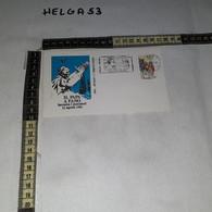 FB8299 FANO 1984 FDC TIMBRO ANNULLO INCONTRO DEL PAPA CON I PESCATORI PAPA GIOVANNI PAOLO II - 1981-90: Storia Postale