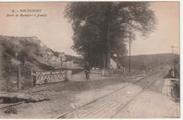 Rochefort - Route De Rochefort à Jemelle -  Passage à Niveau - Henri Georges, éditeur, Bruxelles N° 6 - Rochefort