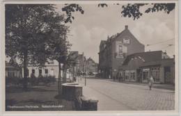 Nordrhein-Westfalen - Oberhausen-Sterkrade, Bahnhofstraße, Sw-Fotokarte 1935 - Non Classificati