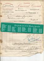 Verviers. Poudrerie Laurent Cornet 1905 - Droguerie & Parfumerie