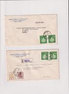 COREE DU SUD-1 LR.DE SEOUL 1968-  +1 LR DE SEOUL 1969 POUR LA FRANCE-2 ENV. ++ - Corée Du Sud