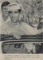 CYCLISME. Carte Photo  Souple De Federico BAHAMONTES. Vainqueur Du Tour De France 1959 - Ciclismo