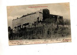Carte Saint Felix Chateau Cachet Sur Blanc - Sonstige Gemeinden