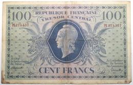 France - 100 Francs - 1943 - PICK 105a / VF6.01e - TB - 1943-1945 Marianne